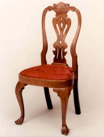 Queen Anne Chair - Philadelphia - Walnut