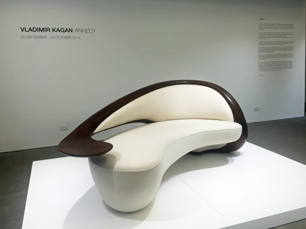 Designed by Kagan in 2016, and shown at the Carpenters Workshop Gallery in NYC.