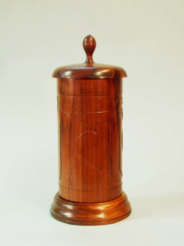 Buddhist Prayer Wheel - Walnut