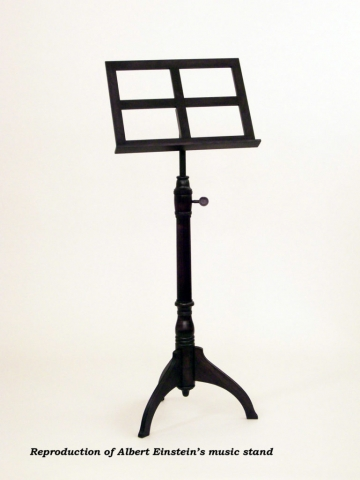 Custom furniture reproduction - Albert Einsteins Music Stand