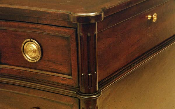 French Chest - detail 2 - Mahogany