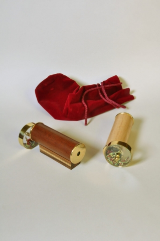 Custom made Kaleidoscopes - Mahogany and Maple